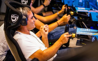Video: Juan Pablo Montoya wins Miami's Fastest Gamer
