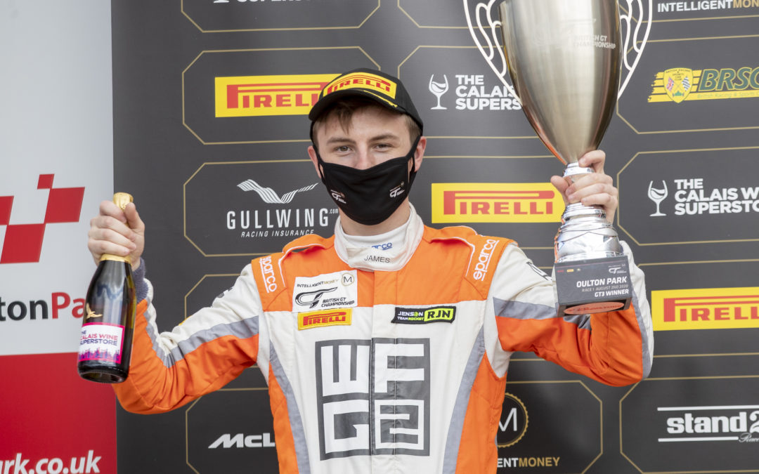World's Fastest Gamer seeks follow up to debut win in Donington Park British GT