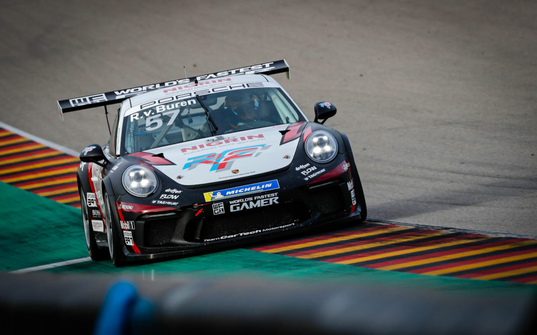 Inaugural World's Fastest Gamer winner van Buren set for Red Bull Ring Carrera Cup battle