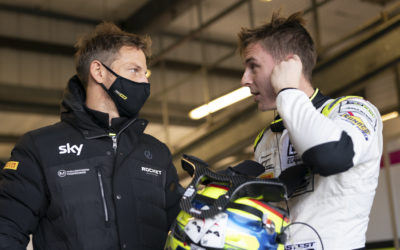 Video: Baldwin at Button at British GT finale