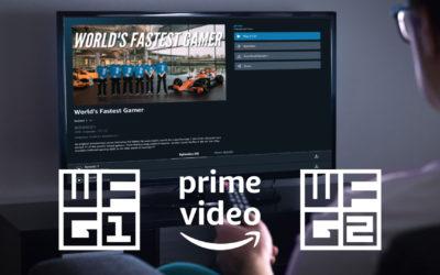Word's Fastest Gamer races onto Amazon Prime